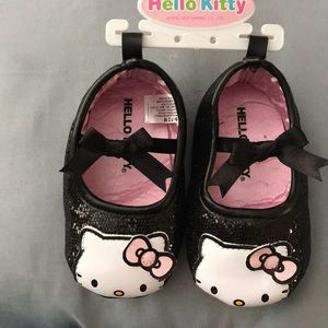 NWT Hello Kitty Baby Ballet Shoes